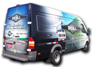 Vehicle Graphics by International Graphics and Nameplate